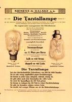 Die Tantallampe