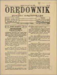 Orędownik Powiatu Mogileńskiego, 1934, Nr 19