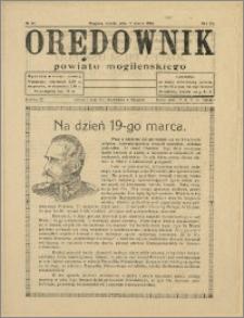 Orędownik Powiatu Mogileńskiego, 1934, Nr 22