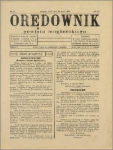 Orędownik Powiatu Mogileńskiego, 1934, Nr 23