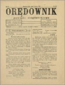 Orędownik Powiatu Mogileńskiego, 1934, Nr 24