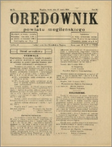 Orędownik Powiatu Mogileńskiego, 1934, Nr 25