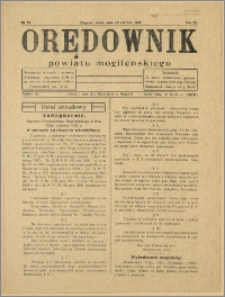 Orędownik Powiatu Mogileńskiego, 1934, Nr 49