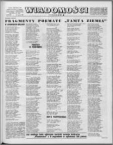 Wiadomości, R. 16 nr 12 (781), 1961