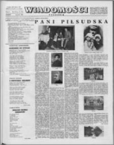 Wiadomości, R. 16 nr 13 (782), 1961