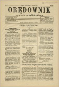 Orędownik Powiatu Mogileńskiego, 1935, nr 47