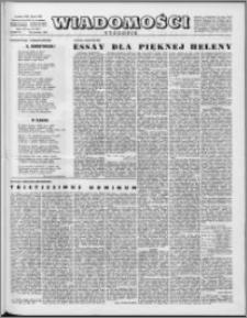 Wiadomości, R. 16 nr 18 (787), 1961