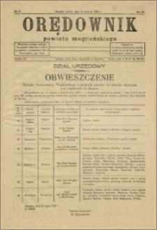 Orędownik Powiatu Mogileńskiego, 1935, nr 63