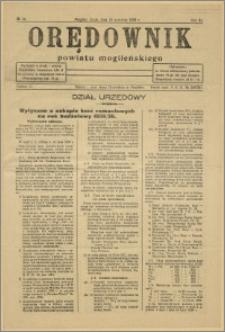 Orędownik Powiatu Mogileńskiego, 1935, nr 74