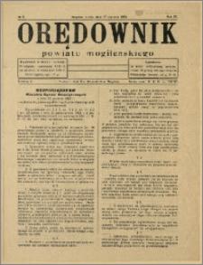 Orędownik Powiatu Mogileńskiego, 1934, Nr 5