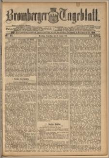 Bromberger Tageblatt. J. 15, 1891, nr 12