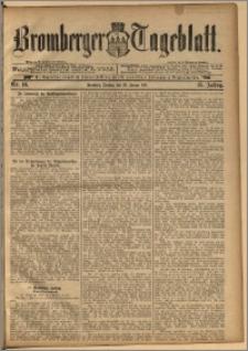 Bromberger Tageblatt. J. 15, 1891, nr 16