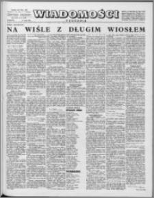 Wiadomości, R. 16 nr 21 (790), 1961