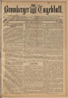 Bromberger Tageblatt. J. 15, 1891, nr 34