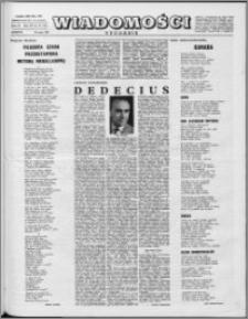 Wiadomości, R. 16 nr 22 (791), 1961