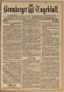 Bromberger Tageblatt. J. 15, 1891, nr 39