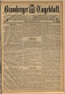 Bromberger Tageblatt. J. 15, 1891, nr 81