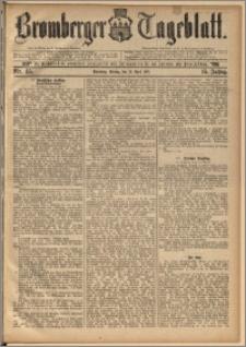 Bromberger Tageblatt. J. 15, 1891, nr 85