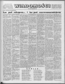 Wiadomości, R. 16 nr 25 (794), 1961
