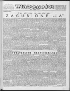 Wiadomości, R. 16 nr 28 (797), 1961