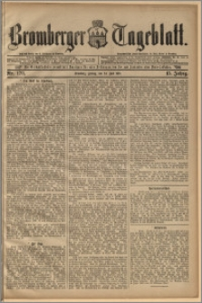 Bromberger Tageblatt. J. 15, 1891, nr 170