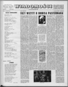 Wiadomości, R. 16 nr 31 (800), 1961