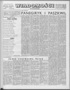 Wiadomości, R. 16 nr 33 (802), 1961