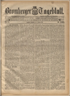 Bromberger Tageblatt. J. 16, 1892, nr 31