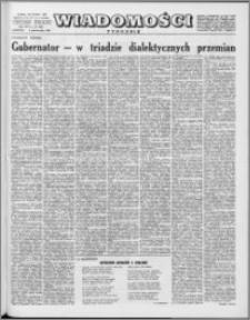Wiadomości, R. 16 nr 40 (809), 1961