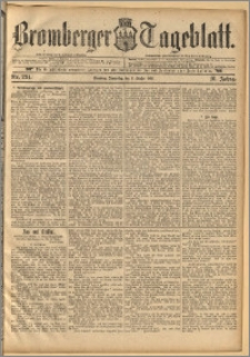 Bromberger Tageblatt. J. 16, 1892, nr 234