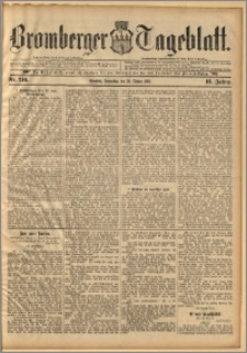 Bromberger Tageblatt. J. 16, 1892, nr 246