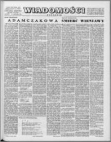 Wiadomości, R. 16 nr 43 (812), 1961