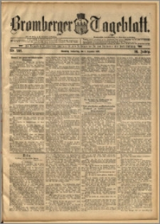 Bromberger Tageblatt. J. 16, 1892, nr 282