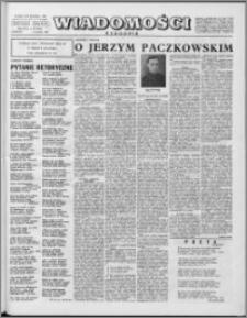 Wiadomości, R. 16 nr 49 (818), 1961