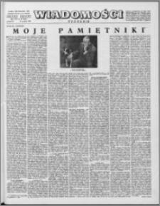 Wiadomości, R. 16 nr 50 (819), 1961