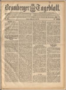 Bromberger Tageblatt. J. 17, 1893, nr 154