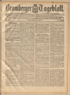 Bromberger Tageblatt. J. 17, 1893, nr 156