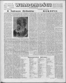 Wiadomości, R. 15 nr 2 (719), 1960