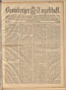 Bromberger Tageblatt. J. 17, 1893, nr 195