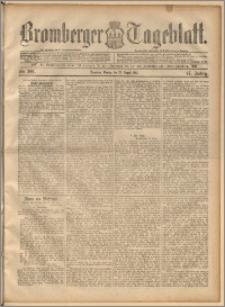 Bromberger Tageblatt. J. 17, 1893, nr 201