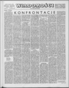 Wiadomości, R. 15 nr 5 (722), 1960