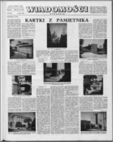 Wiadomości, R. 15 nr 6 (723), 1960