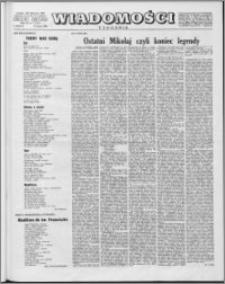 Wiadomości, R. 15 nr 7 (724), 1960