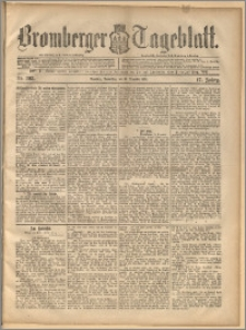 Bromberger Tageblatt. J. 17, 1893, nr 293