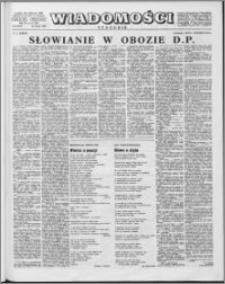 Wiadomości, R. 15 nr 8 (725), 1960