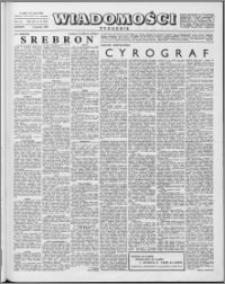 Wiadomości, R. 15 nr 14 (731), 1960