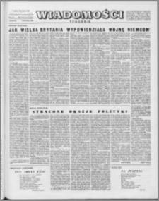 Wiadomości, R. 15 nr 17 (734), 1960
