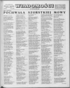 Wiadomości, R. 15 nr 20 (737), 1960
