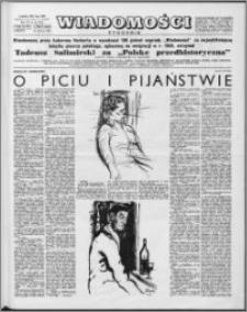 Wiadomości, R. 15 nr 25 (742), 1960