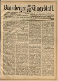 Bromberger Tageblatt. J. 19, 1895, nr 24